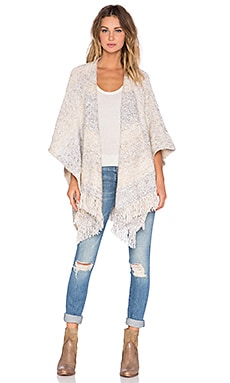 Soft Joie Matricia Cardigan in Heather Mushroom Multi