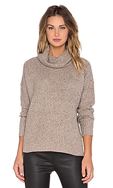 Soft Joie Lynfall Sweater in Dark Heather Camel