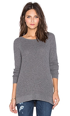 Soft Joie Bini Sweater in Dark Heather Grey