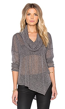 Soft Joie Parvarti Sweater in Charcoal & Porcelain