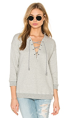 Soft Joie Koah Hoodie in Light Heather Grey
