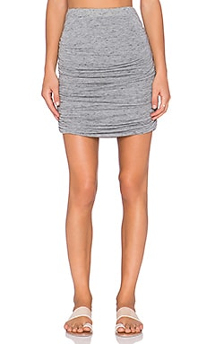 Soft Joie Anisia Skirt in Heather Grey