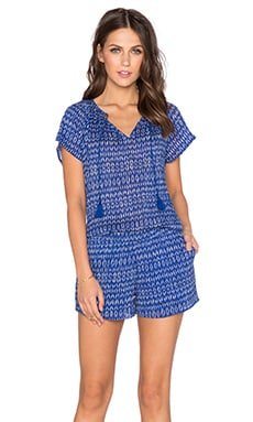 Soft Joie Spica Romper in Twilight Blue