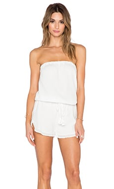 Soft Joie Connely B Romper in Porcelain