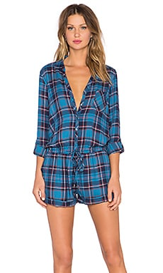 Soft Joie Ravyn Romper in Blue Steel
