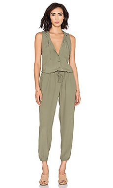 Soft Joie Biltmore B Jumpsuit in Deep Lichen Green