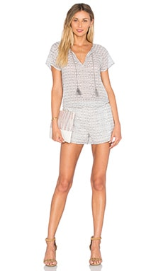Spica Romper in Soft Grey