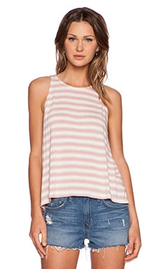 Soft Joie Phan Tank in Rose & Porcelain