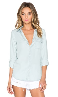 Soft Joie Onyx Top en Light Indigo