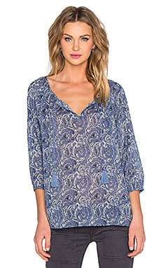 Soft Joie Legaspi Blouse in Colony Blue