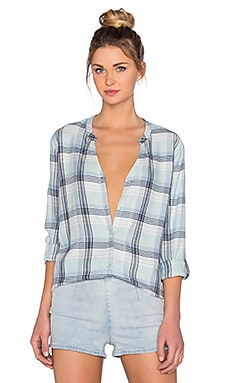 Soft Joie Dane Button Up in Seaglass