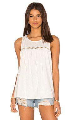 Soft Joie Daelyn Tank in Porcelain