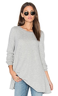 Lucai Top in Light Heather Grey