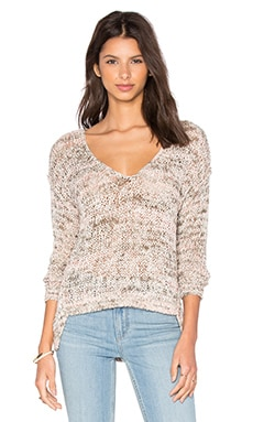 Kate Open Knit Slouchy Pullover