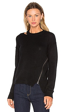 Cut Out Zip Sweater