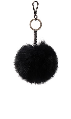 Maylee Fox Fur Key Chain