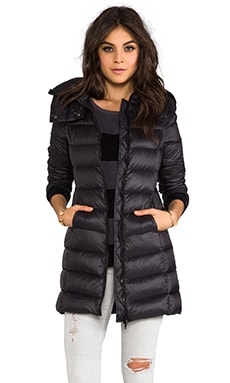 Kisha Down Coat in Black