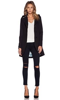 Soia & Kyo Clemence Novelty Coat in Black
