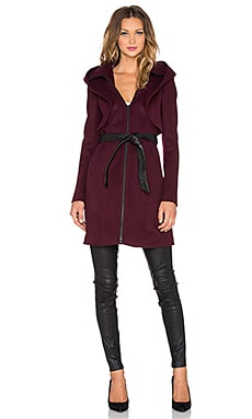 Soia & Kyo Arya Coat in Merlot