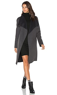 Oxana Coat in Charcoal