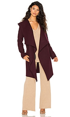 Samia Coat in Grape