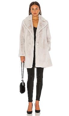 Renada Faux Fur Coat Soia & Kyo $345