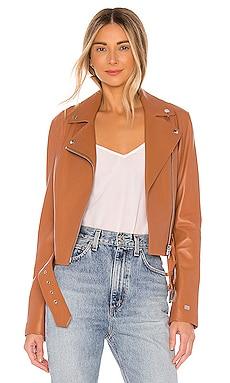 Clodia Moto Jacket Soia & Kyo $595 NEW ARRIVAL