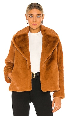 Emanuela Faux Fur Coat Soia & Kyo $295