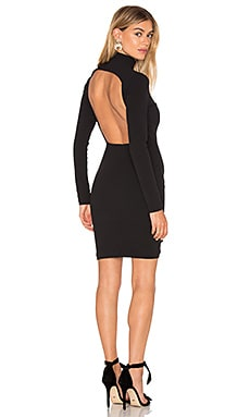 SOLACE London Pavan Dress in Black