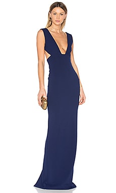 Dalia Maxi Dress in Navy