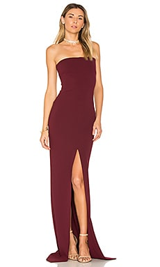 Bysha Maxi Dress in Rosewood