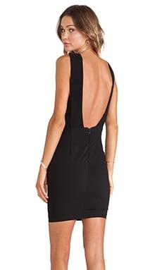 SOLACE London Emperor Mini Dress in Black