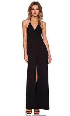 Fae Maxi Dress in Black