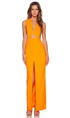 Holt Maxi Dress in Orange