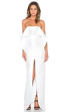 SOLACE London Chaka Maxi Dress in White