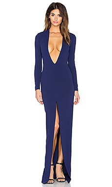 SOLACE London x REVOLVE Gali Maxi Dress in Navy