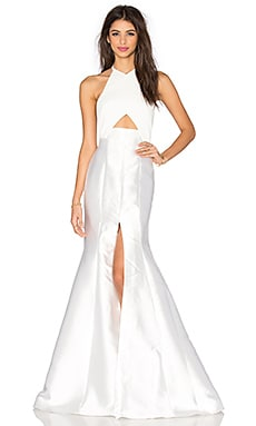 SOLACE London Scherrie Maxi Dress in Cream
