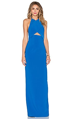 Keaton Maxi Dress in Azure