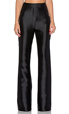 SOLACE London Laurie Trousers in Black