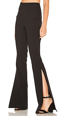 SOLACE London Grace Pant in Black