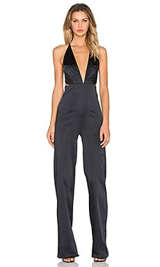 SOLACE London Peggy Jumpsuit in Black