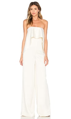 SOLACE London Cadenza Jumpsuit in Ivory