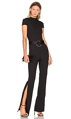 SOLACE London Orvile Jumpsuit in Black