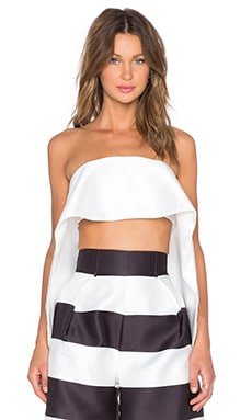 SOLACE London Loletta Top in White