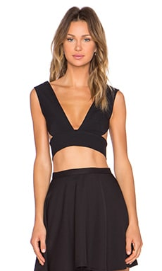 SOLACE London Ono Top en Noir