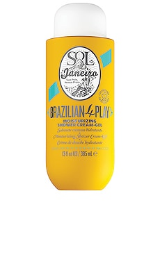 Brazilian 4-Play Shower Cream Gel Sol de Janeiro $25 BEST SELLER