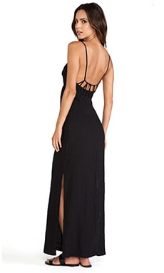 So Low Loop Back Maxi Dress