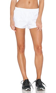 SOLOW Windbreaker Short in White