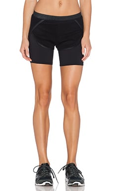 SOLOW Box Mesh Short in Black
