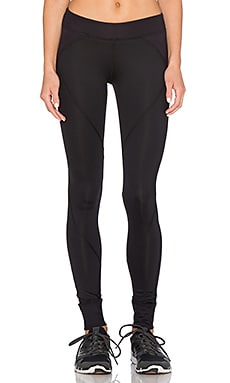 SOLOW Dotted Herringbone Legging in Black